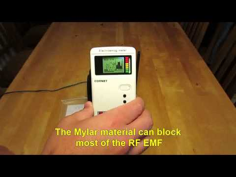 Mylar - The cheapest RF protection around