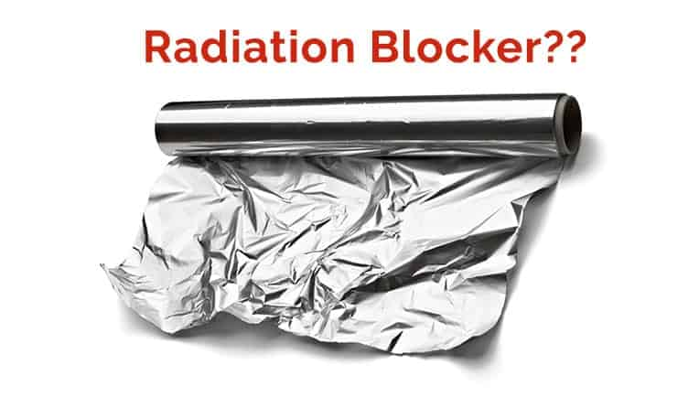 Does Aluminum Foil Block EMF Radiation?