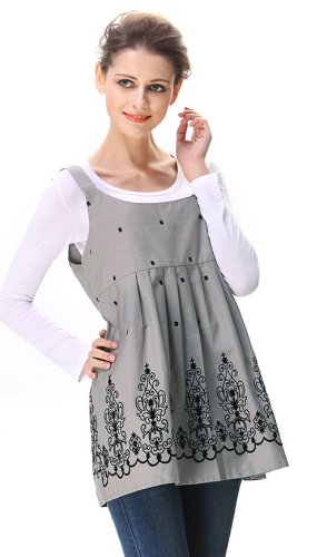 anti-radiation maternity clothes tank protection shield dresses