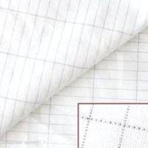 cotton grid emf shielding fabric