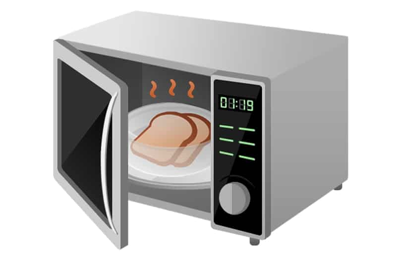 Microwave radiation