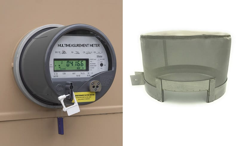 smart meter radiation shield
