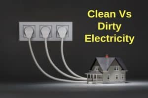 Clean Vs. Dirty Electricity
