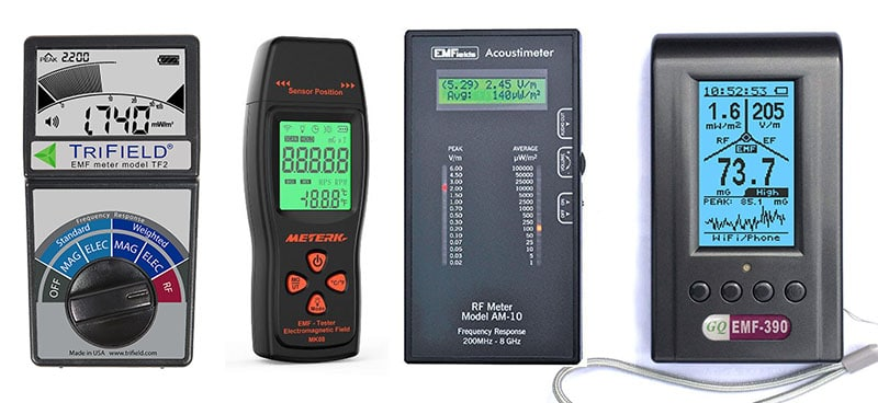 best emf meter home wifi power lines
