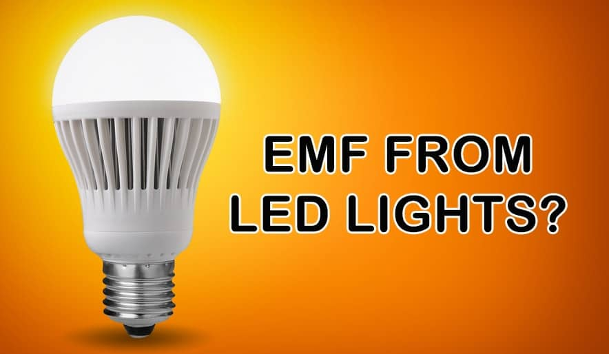 EMF Radiation from LED Lights