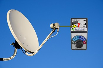 EMF Radiation from Satellite Dish