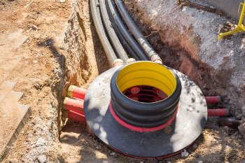 EMF Radiation from Underground Cables