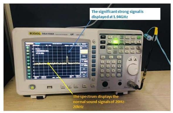 analyser without anti radiation headset