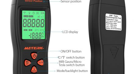 How to Use and Read an EMF Meter