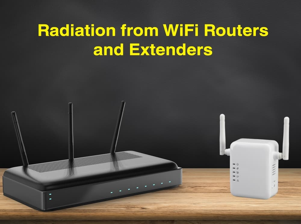 Do WiFi Routers and Extenders Emit EMF Radiation