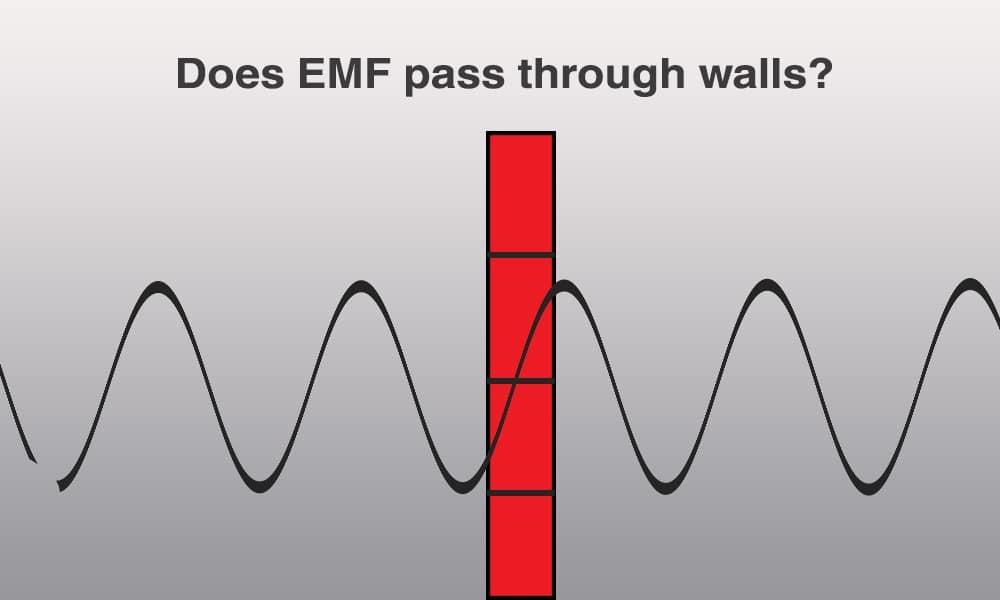 Can EMF Go Through Walls
