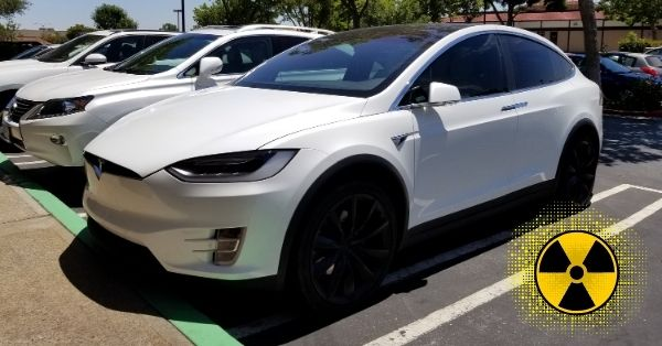EMF From Tesla Cars